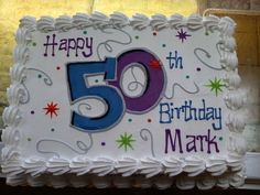 65th birthday sheet cake ; e4af36af20fd9e5fbea148664990ffcc