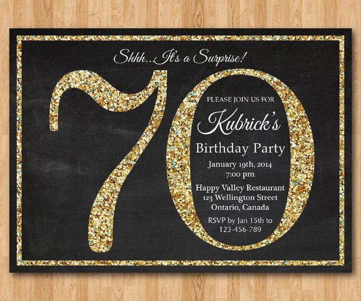 70th birthday theme color ; 70th-birthday-invitations-and-get-ideas-how-to-create-your-birthday-with-fair-appearance-1