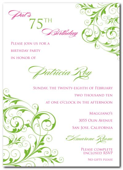 75th birthday invitations printable ; 75th-birthday-invitation-wording-samples-pink-design-events-blog-75th-birthday-party-suite-invitation