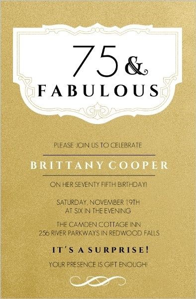 75th birthday invitations printable ; Astounding-75Th-Birthday-Invitations-Which-You-Need-To-Make-Free-Printable-Birthday-Party-Invitations