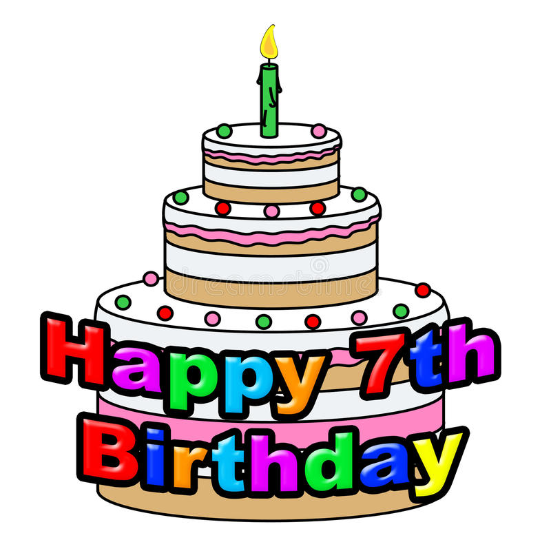 7th birthday clipart ; happy-seventh-birthday-means-celebrating-congratulating-greeting-showing-celebrate-celebration-46491924