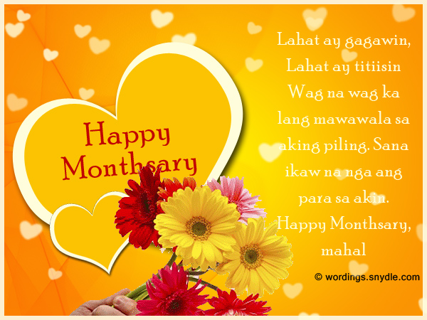 7th birthday message tagalog ; tagalog-monthsary-messages