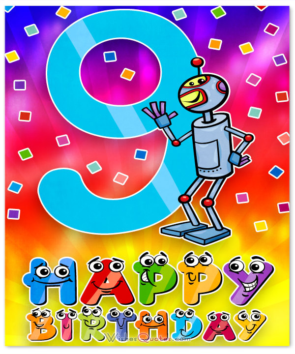 9th birthday card messages ; 9th-Birthday-Card-for-Boy