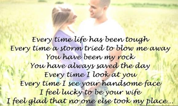 a birthday quote for my husband ; happy-birthday-to-my-sweetheart