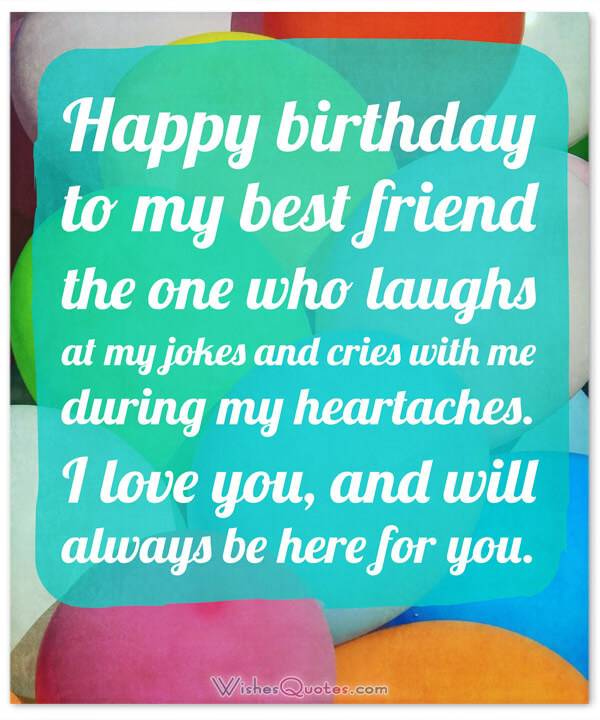 a birthday wish for my best friend ; Birthday-Image-Best-Friend