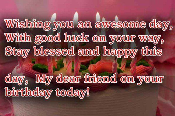 a birthday wish for my best friend ; awesome-birthday-wishes-for-friend