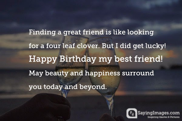 a quote for my best friend birthday ; birthday-wishes-for-friends