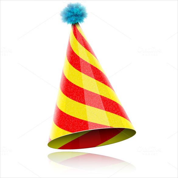 add a birthday hat to a picture ; Colorful-Glossy-Birthday-Hat-For-Celebration