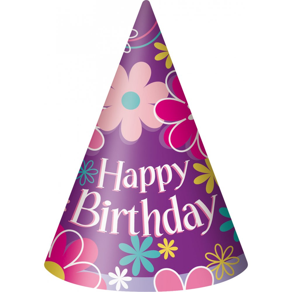 add a birthday hat to a picture ; pink-birthday-hat-png-33