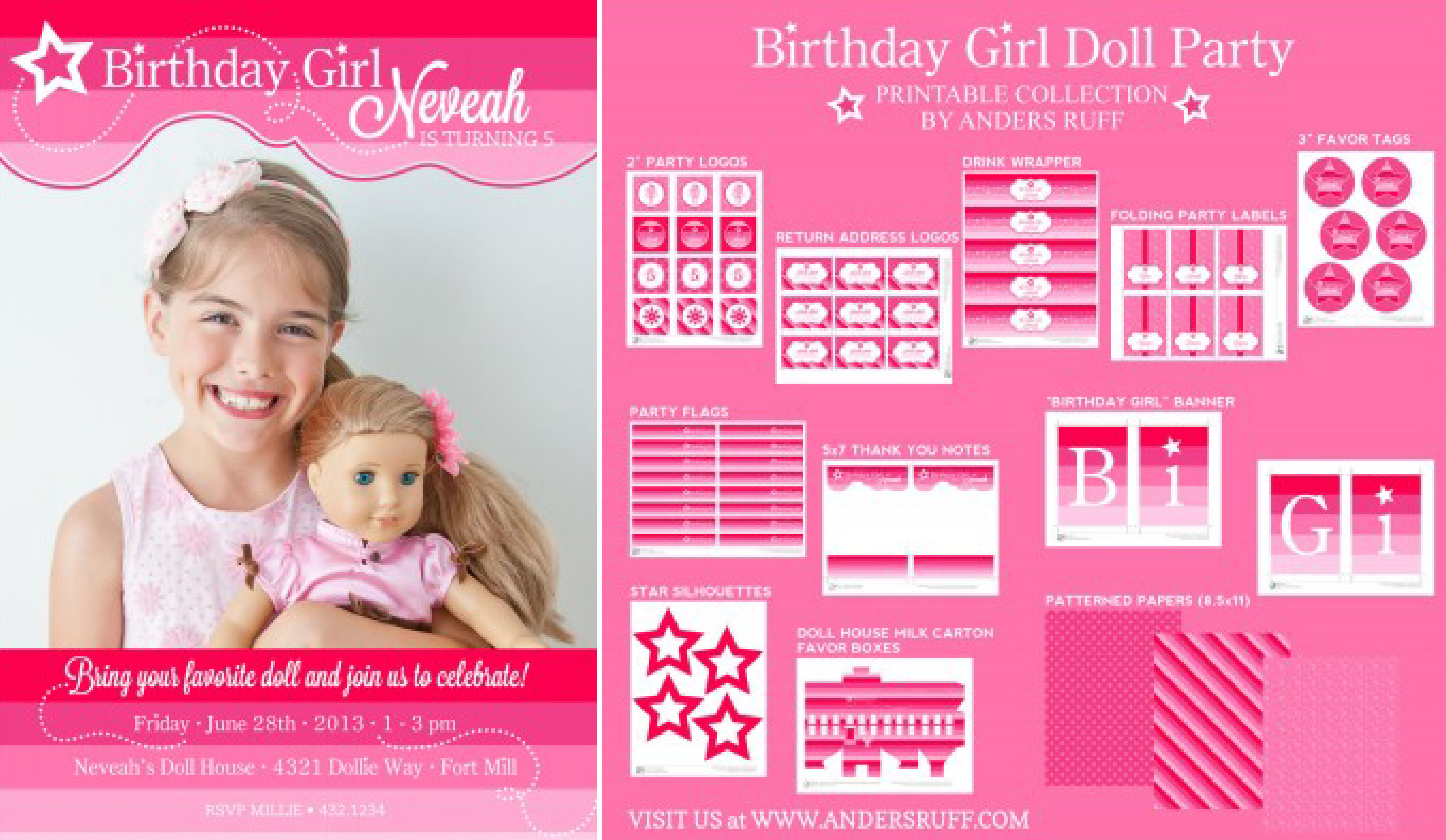 american girl birthday card printable ; american-girl-birthday-invitations-by-created-your-Birthday-Invitation-Cards-invitation-card-design-with-astonishing-ornaments-16