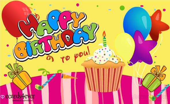 animated birthday card text message ; HappyBirthday_Lg8