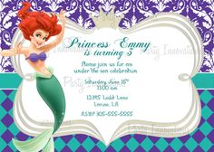 ariel birthday invitations printable ; 582d9c0f67af6c690666a31e59780222--mermaid-party-invitations-printable-birthday-invitations