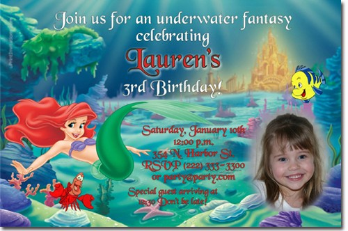 ariel birthday invitations printable ; little_mermaid_ariel_birthday_invitations_ae6a28ac