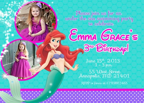 ariel birthday invitations printable ; little_mermaid_ariel_birthday_party_invitation_digital_printable_file_1944f7d6