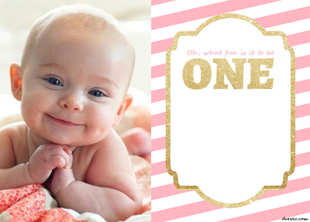 baby birthday invitation template ; FREE-Printable-1st-Birthday-Invitation-Template-Preview