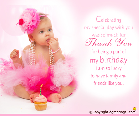 baby girl 1st birthday card messages ; 1st-birthday-thank-you-card-1-baby-girly-style-pink-soft-and-sayings-unique-birthday-sweet-kids-1st-birthday-card-messages