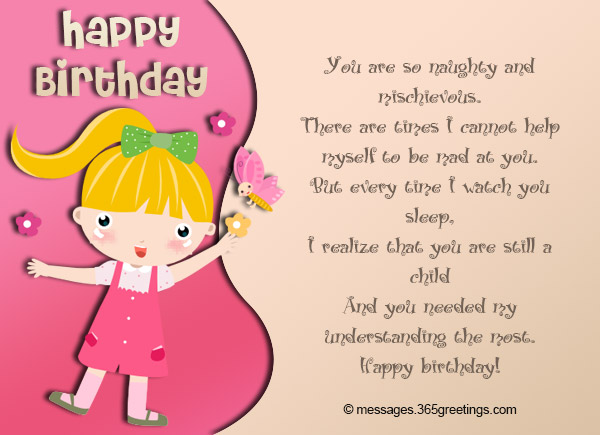baby girl 1st birthday card messages ; birthday-wishes-for-kids-02