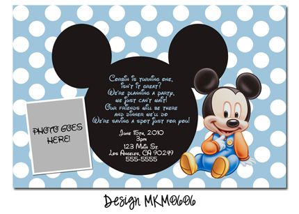 baby mickey mouse 1st birthday printable invitations ; b43a38bfe8b60a764350157e820e6f3c--mickey-mouse-st-birthday-baby-mickey-mouse