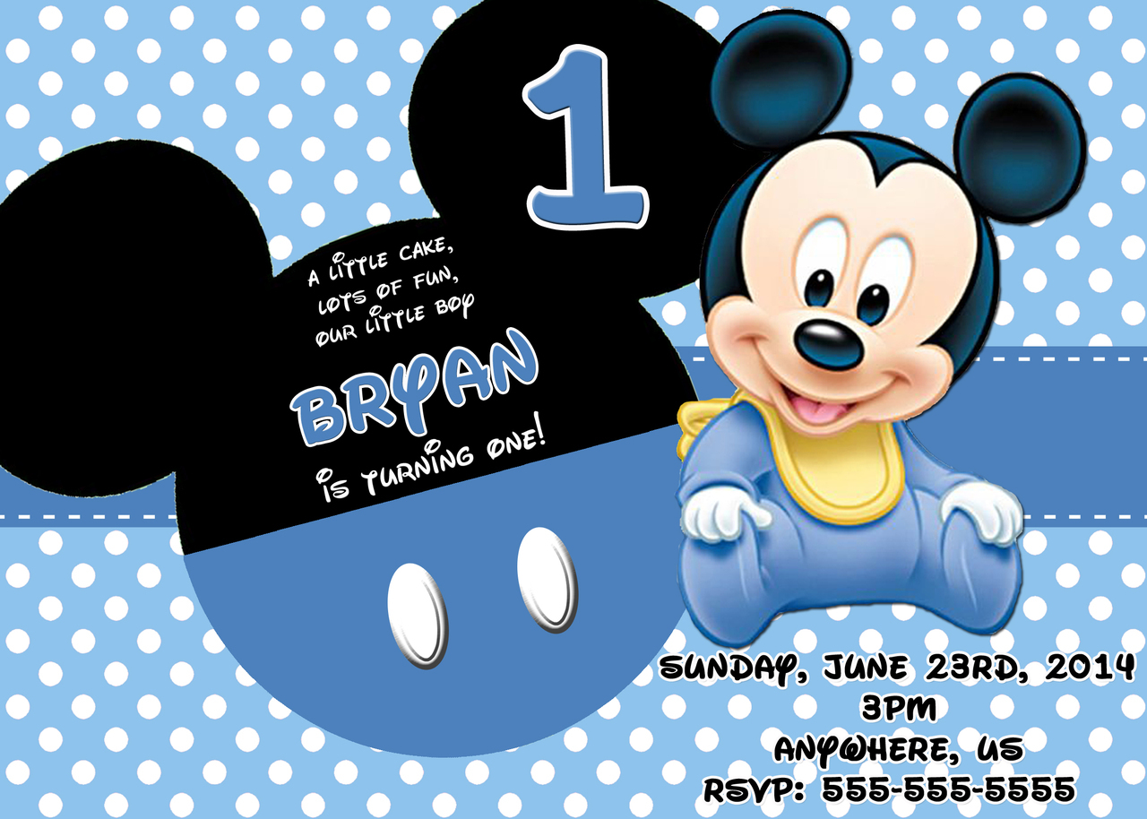baby mickey mouse 1st birthday printable invitations ; baby_mickey_mouse_1st_birthday_printable_invitations_7