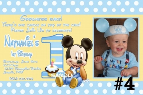 baby mickey mouse 1st birthday printable invitations ; baby_mickey_mouse_custom_photo_1st_birthday_invitation_digital_file____04ca8a01