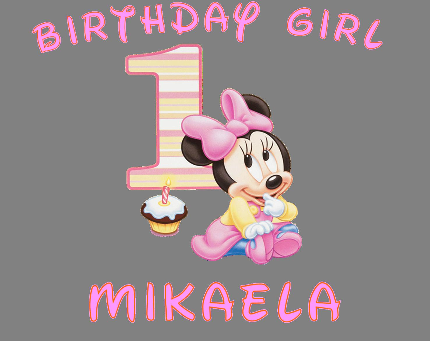 baby's first birthday clipart ; baby-minnie-mouse-1st-birthday-clipart-6