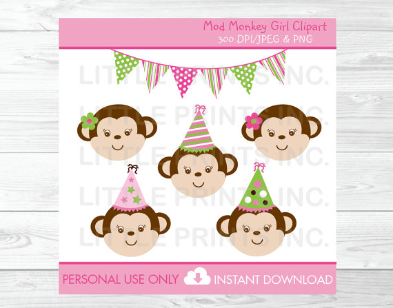 baby's first birthday clipart ; il_570xN