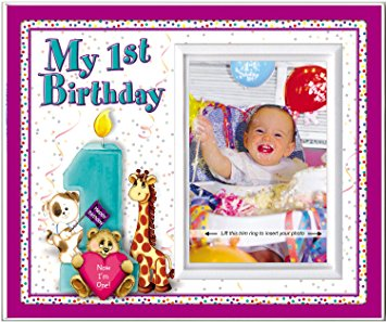 baby's first birthday picture frames ; 81Z9SzOVcNL