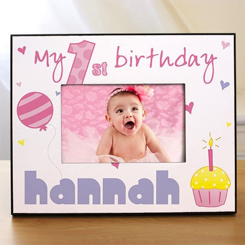 baby's first birthday picture frames ; 81cfc3370f40f72745ea49dcdf057fe0
