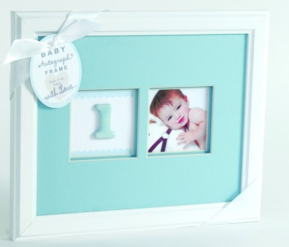 baby's first birthday picture frames ; R-2053-2