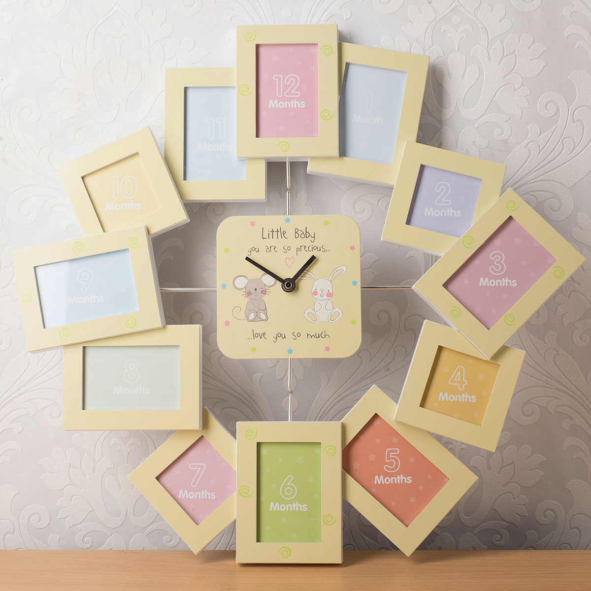baby's first birthday picture frames ; fullsize_a