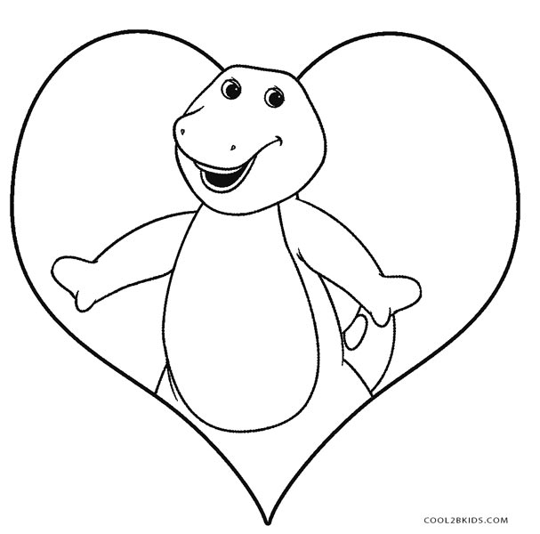 barney birthday coloring pages ; Barney-Coloring-Pages-to-Print-Free