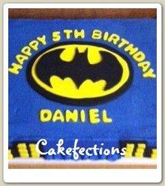 batman birthday sheet cake ; 0a3ab727ac5e9383cf7c0541943b1b98