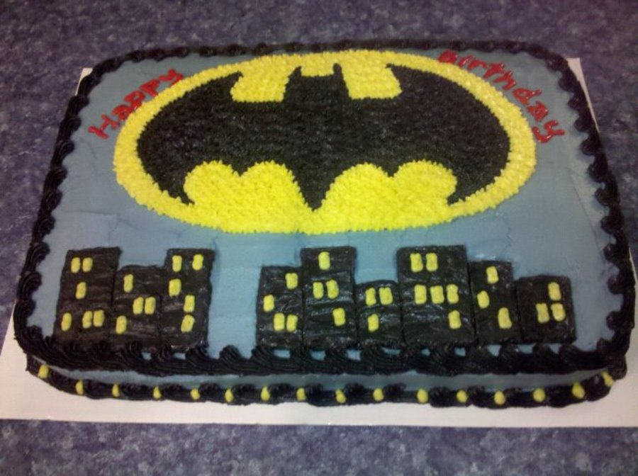 batman birthday sheet cake ; 900_8000950sQm_batman-birthday-cake