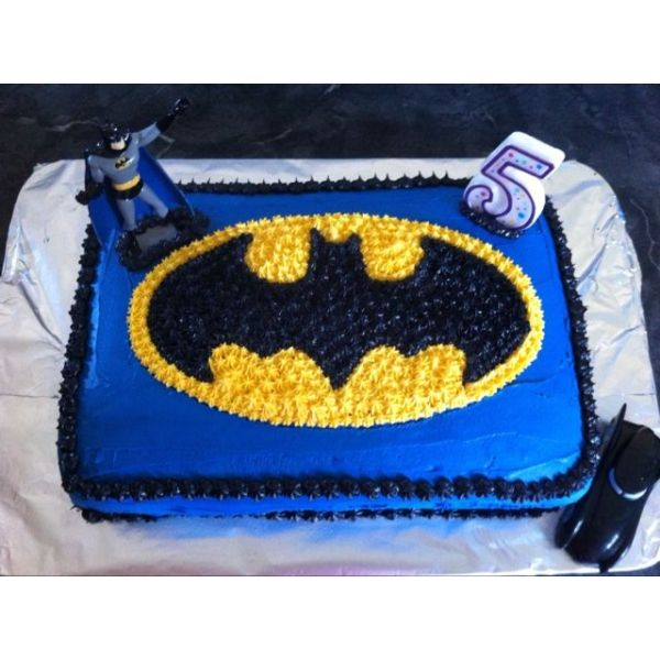 batman birthday sheet cake ; ea26d1779942ad665e5a973c1ede9006
