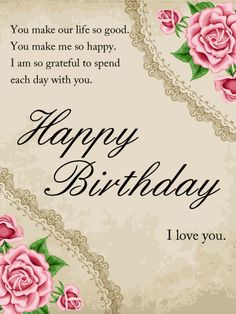 best birthday card messages for wife ; f1e8fdd8699b67e4fbd6f4f44a9f845f--romantic-birthday-cards-kind-person