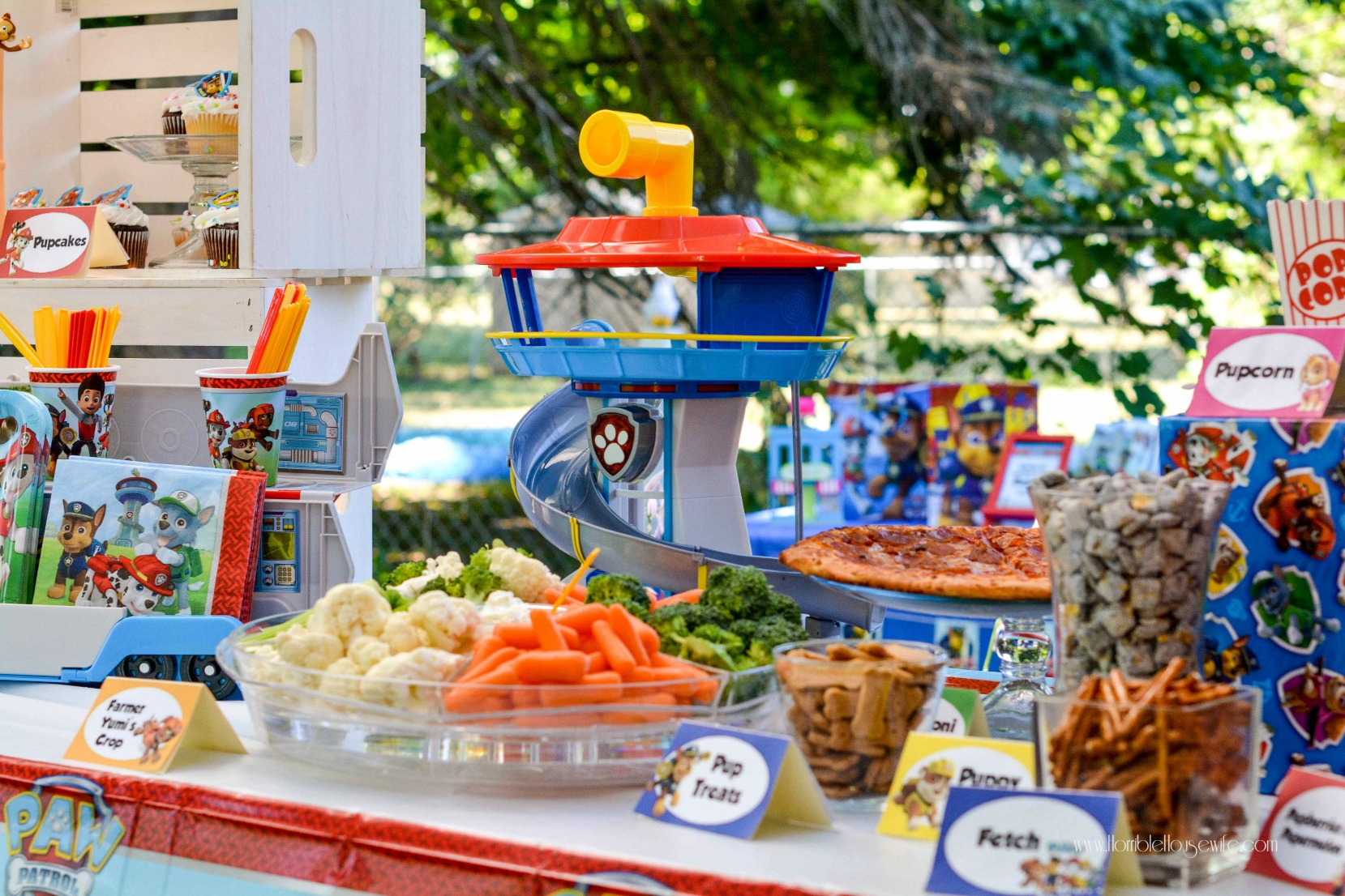 best birthday themes ; How-to-decorate-a-Paw-Patrol-themed-birthday-party
