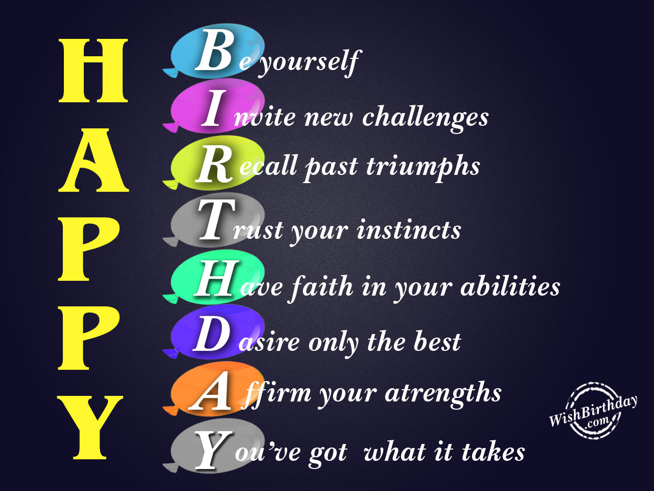 best birthday wish to yourself ; Be-yourselfHappy-Birthday-WB06