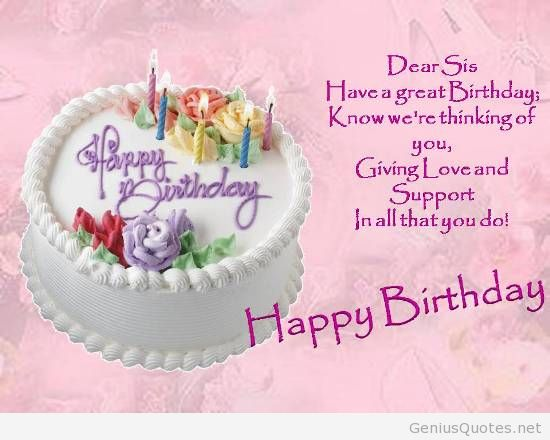 best birthday wishes and quotes ; Birthday-Wishes-For-Your-Dear-Sister