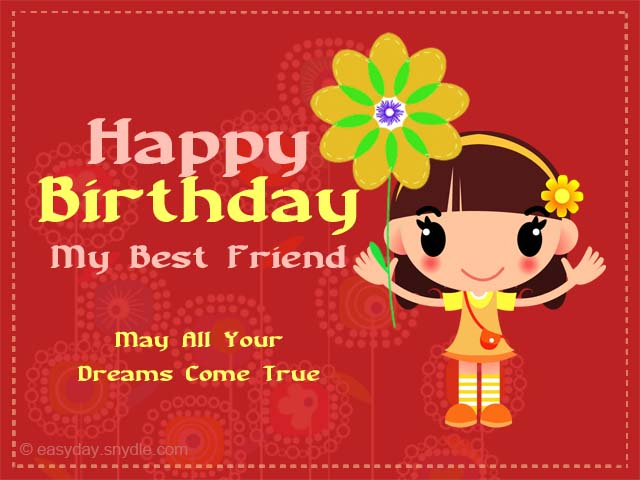 best friend birthday clipart ; birthday-wishes-greetings-for-friend