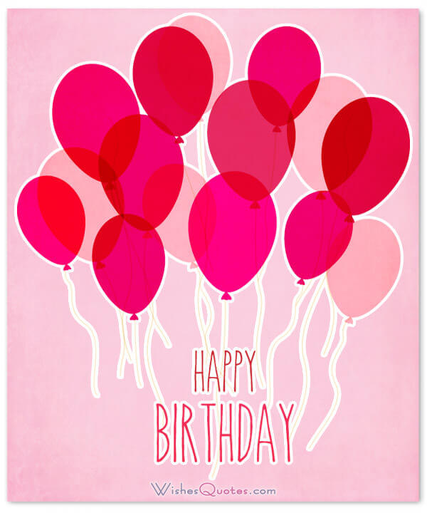 best wish on birthday to a friend ; happy-birthday-red-pink-balloons