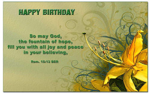 bible message for birthday wishes ; 448519aec02760b87fe652bdfb16fb8b