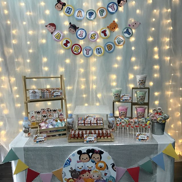 birthday backdrop design ; backdrop__cake_table_1500801556_8f4b4157