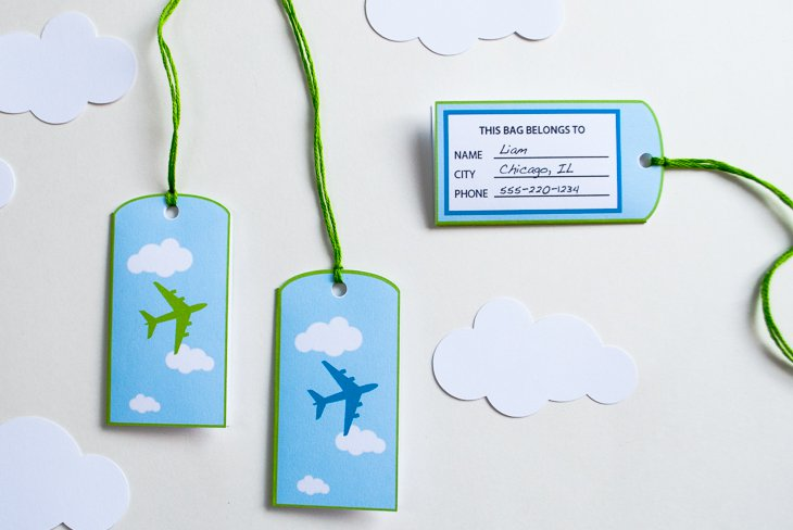 birthday bag tags ; airplane-favor-bag-goodie-bag-luggage-tags-personalized-printable-for-an-airplane-birthday-party_6