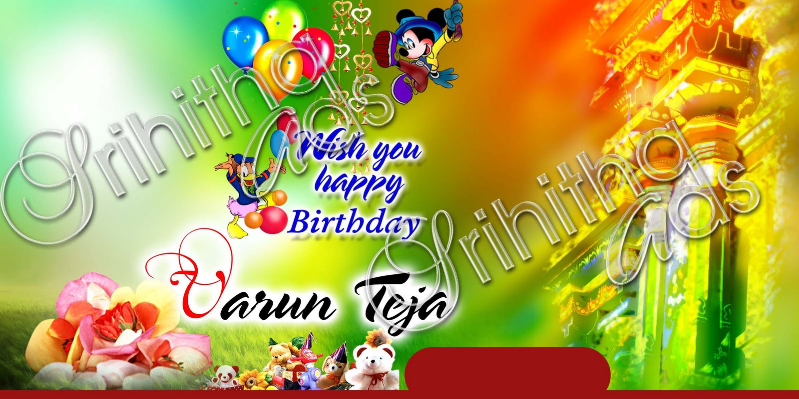 birthday banner psd templates free download ; 1