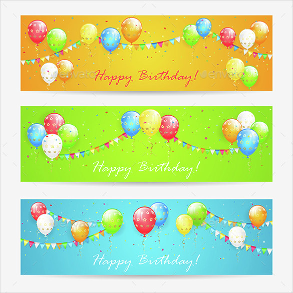 birthday banner psd templates free download ; Star-Birthday-Banner-Template