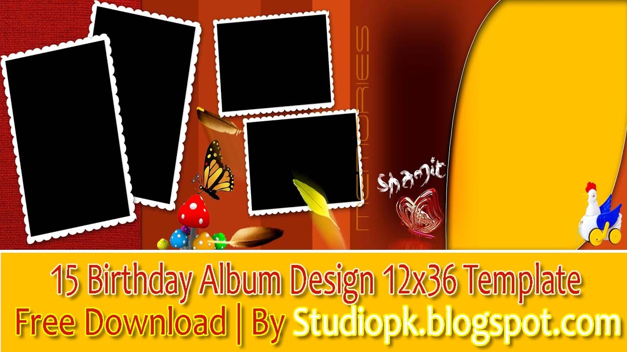 birthday banner psd templates free download ; maxresdefault