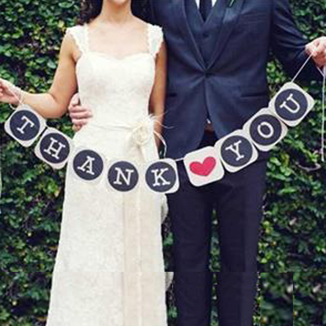 birthday banners you can wear ; Free-Shipping-THANK-YOU-Wedding-Banner-Photo-Booth-Props-Photobooth-For-Wedding-Decoration-Birthday-Party-Event