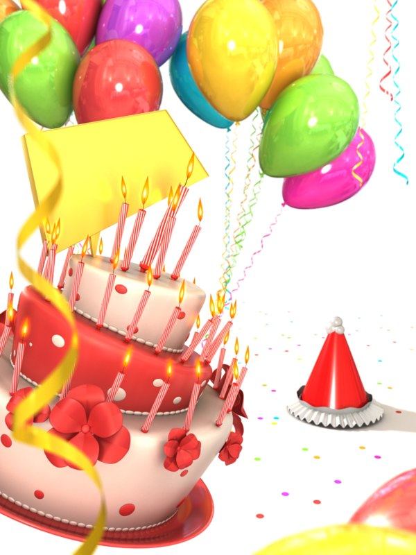 birthday cake balloons picture ; render_01