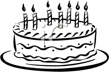 birthday cake candles clipart ; 0511-0912-2117-4260