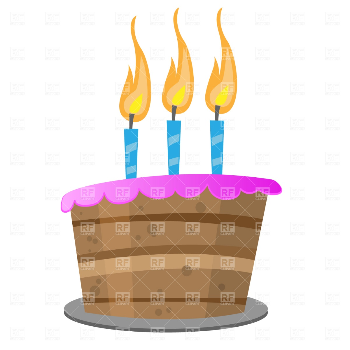 birthday cake candles clipart ; birthday-cake-with-candles-Download-Royalty-free-Vector-File-EPS-1615